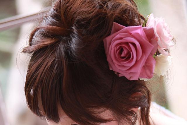 結婚式用髪飾り
